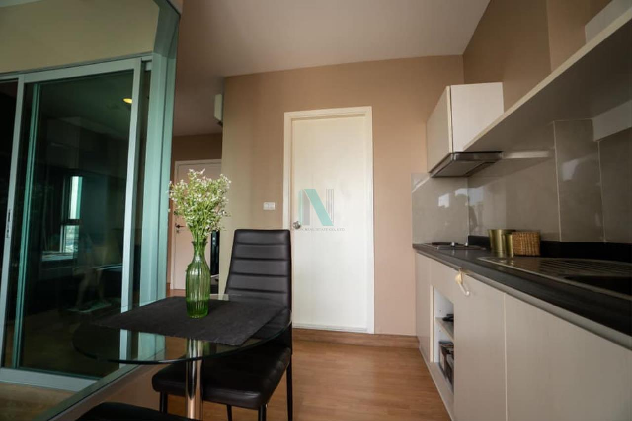 NOPPON REAL ESTATE CO.,LTD. Agency's For rent Aspire Rama 4 1 bedroom Floor 16 A Building  . 5