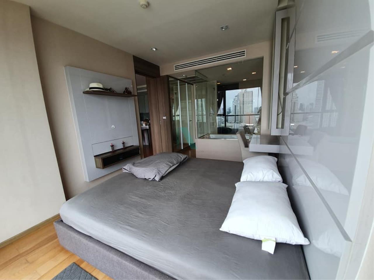 NOPPON REAL ESTATE CO.,LTD. Agency's For rent The Address Sathorn 1 bedroom 35th floor near BTS Chong Nonsi. 2