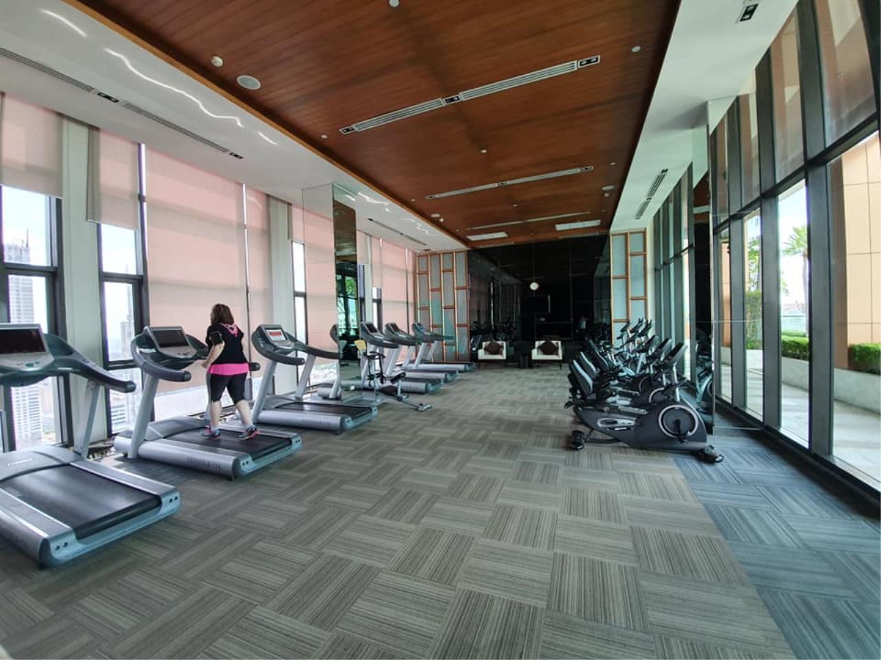 NOPPON REAL ESTATE CO.,LTD. Agency's For rent The Address Sathorn 1 bedroom 35th floor near BTS Chong Nonsi. 6