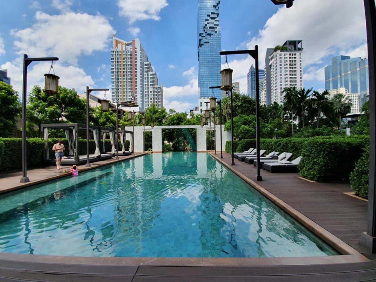 NOPPON REAL ESTATE CO.,LTD. Agency's For rent The Address Sathorn 1 bedroom 35th floor near BTS Chong Nonsi. 8