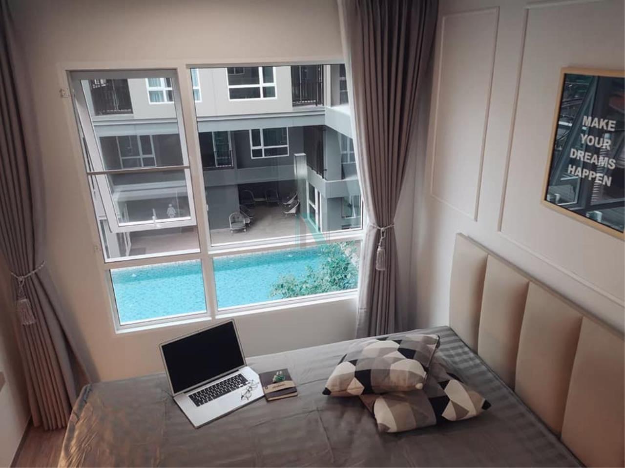 NOPPON REAL ESTATE CO.,LTD. Agency's For rent Regent Home Sukhumvit 97/1 1 bedroom 3rd floor Building E. 6