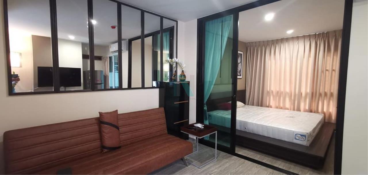 NOPPON REAL ESTATE CO.,LTD. Agency's For rent Regent Home Sukhumvit 97/1 1 bedroom 3rd floor Building F. 1