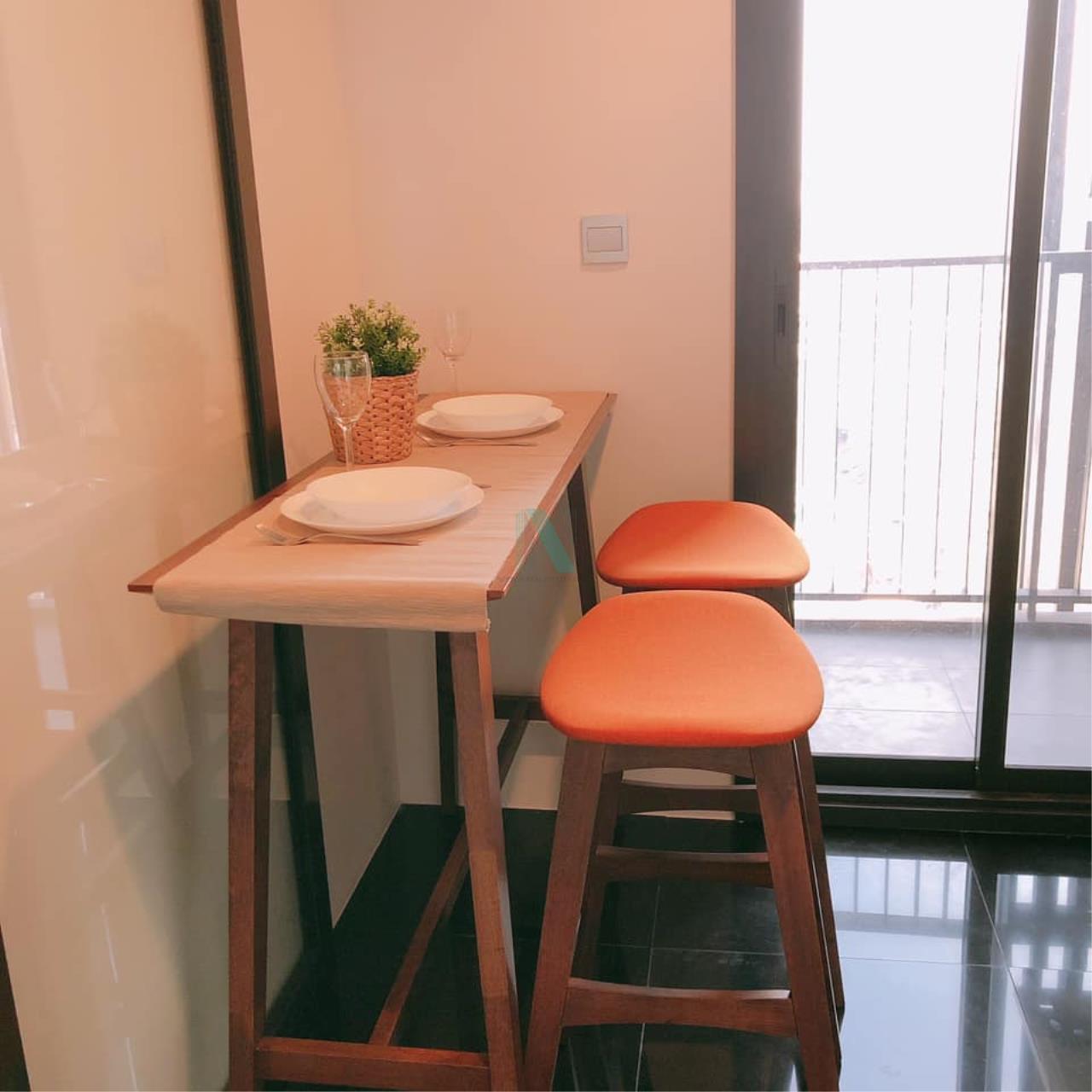 NOPPON REAL ESTATE CO.,LTD. Agency's For rent The LINE Jatujak-Mochit STUDIO Floor 26 near BTS Mo Chit. 2