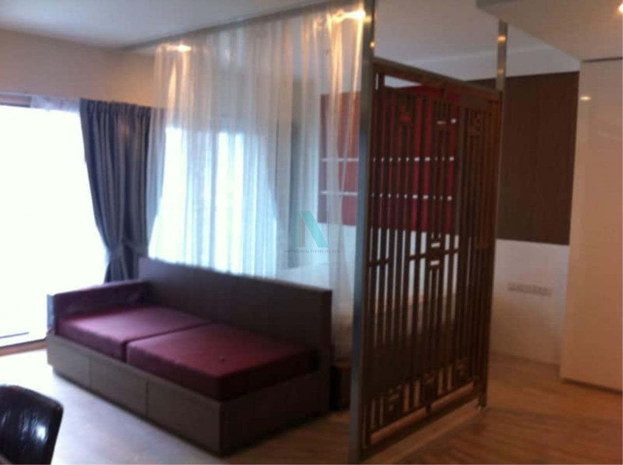 NOPPON REAL ESTATE CO.,LTD. Agency's For rent Noble Remix Sukhumvit 36 STUDIO 19th floor near BTS Thong Lo. 1