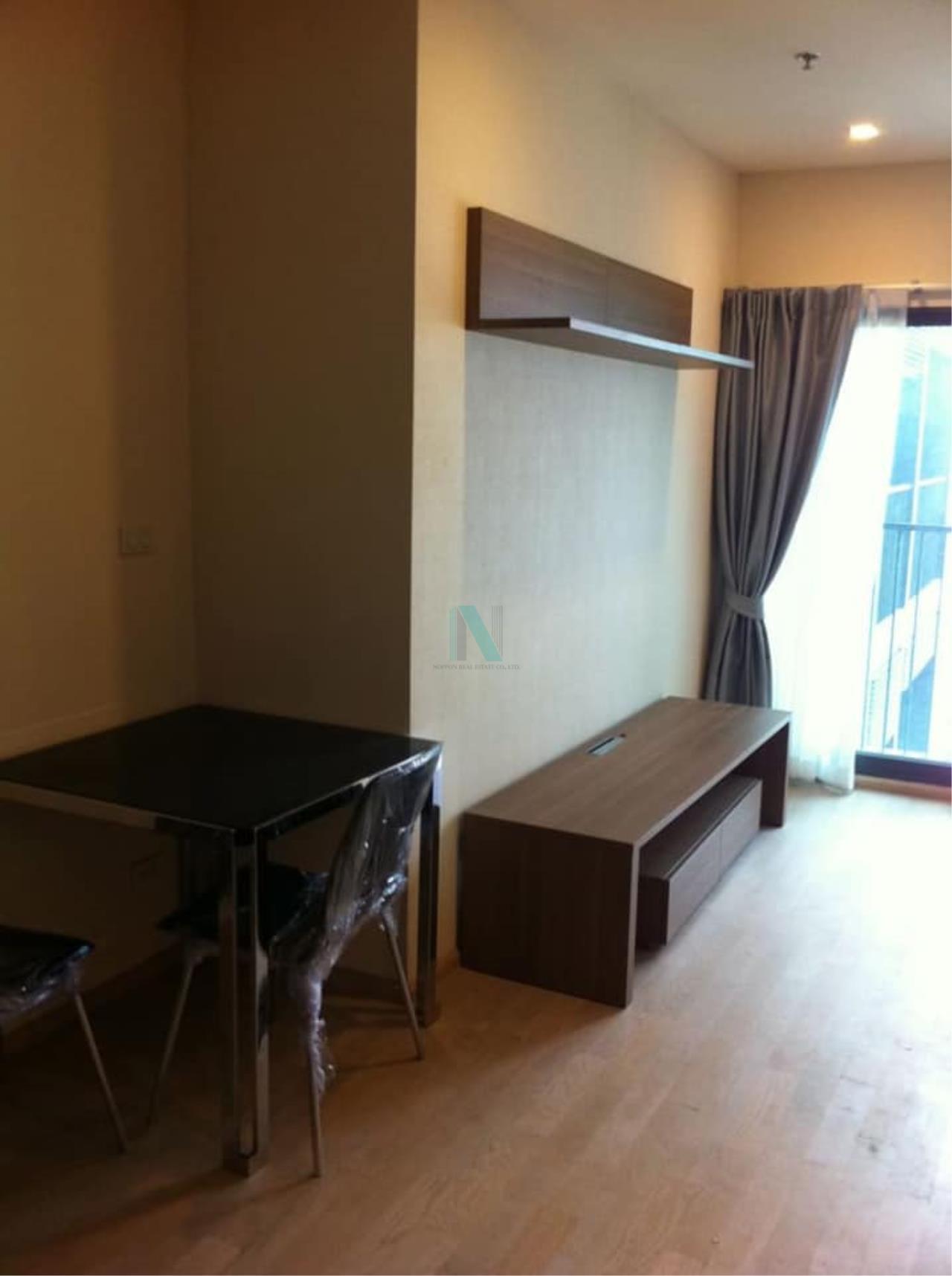 NOPPON REAL ESTATE CO.,LTD. Agency's For rent Noble Remix Sukhumvit 36 STUDIO 19th floor near BTS Thong Lo. 4