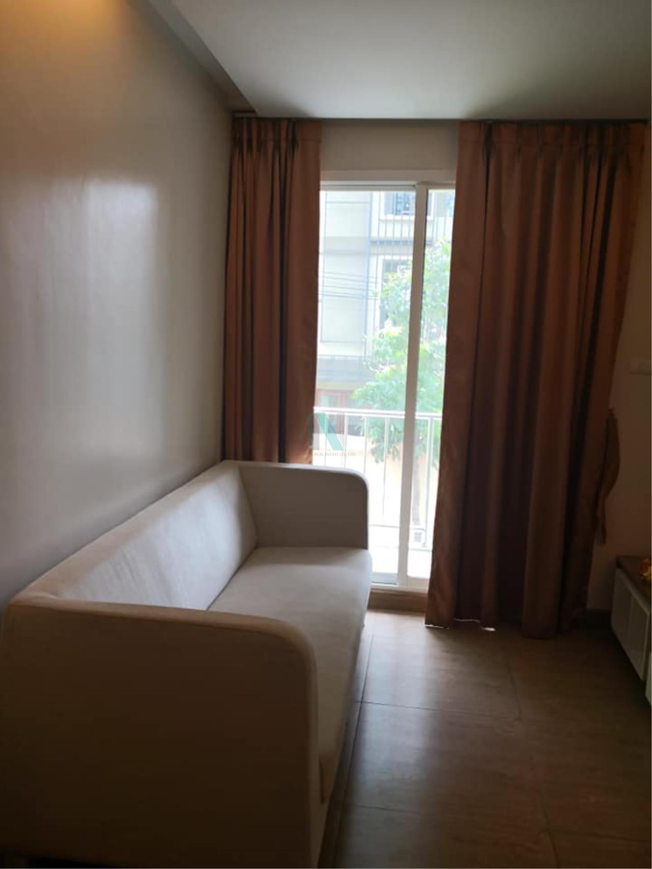NOPPON REAL ESTATE CO.,LTD. Agency's For rent Emerald Residence Ratchada 1 bedroom 2nd floor Building B. 7