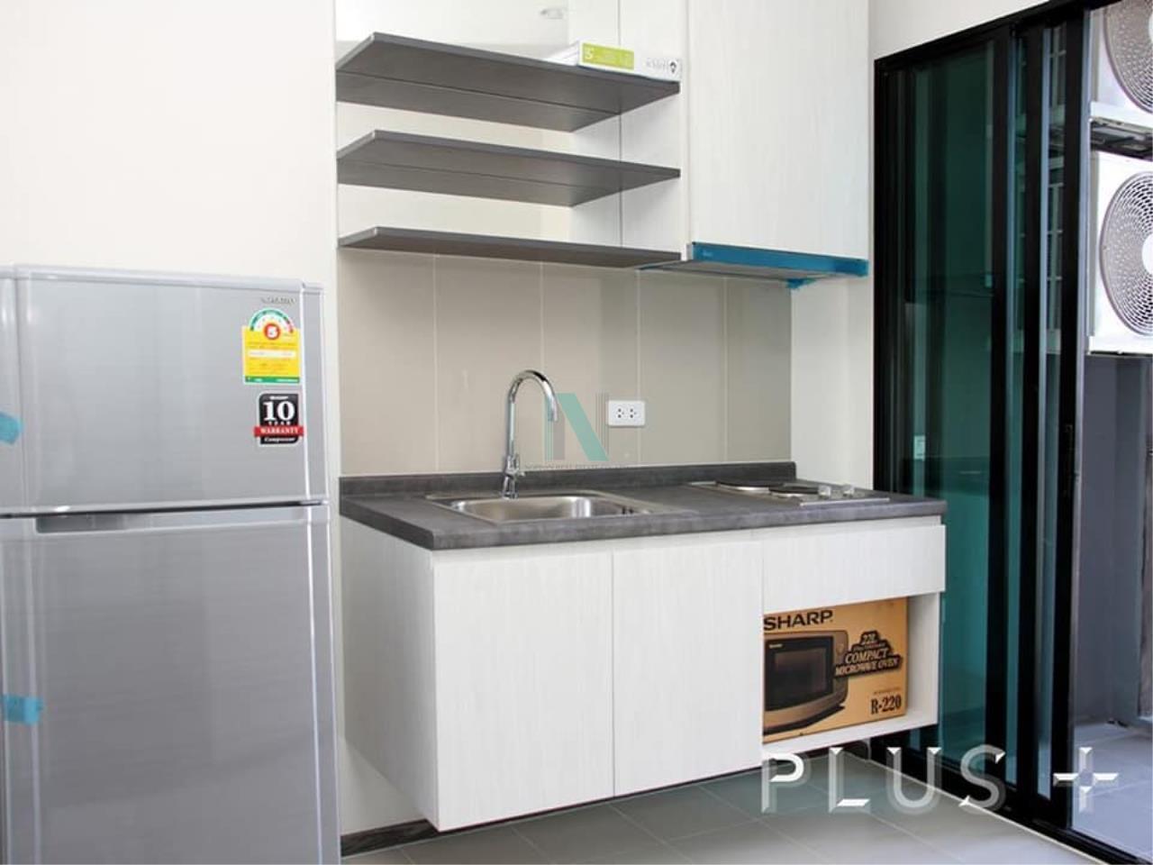 NOPPON REAL ESTATE CO.,LTD. Agency's For rent The Base Park West Sukhumvit 77 1 bedroom 38th floor. 2