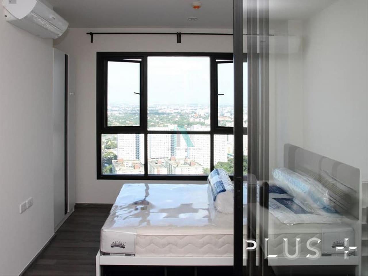 NOPPON REAL ESTATE CO.,LTD. Agency's For rent The Base Park West Sukhumvit 77 1 bedroom 38th floor. 3