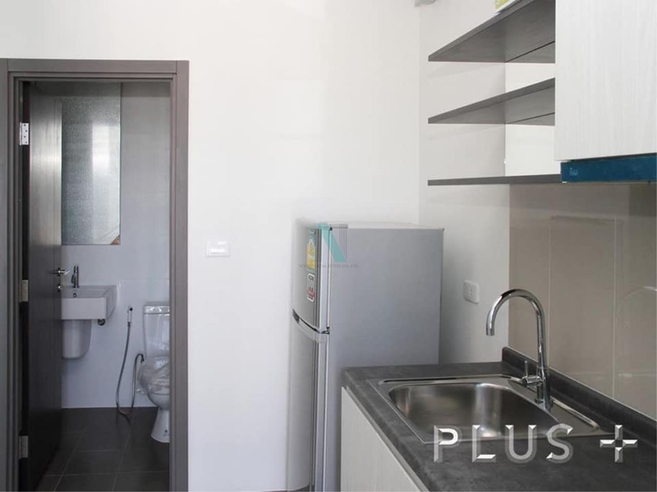 NOPPON REAL ESTATE CO.,LTD. Agency's For rent The Base Park West Sukhumvit 77 1 bedroom 38th floor. 5