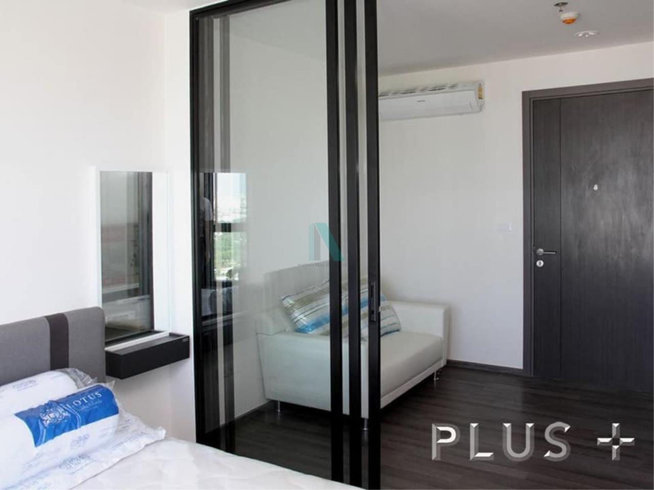 NOPPON REAL ESTATE CO.,LTD. Agency's For rent The Base Park West Sukhumvit 77 1 bedroom 38th floor. 6