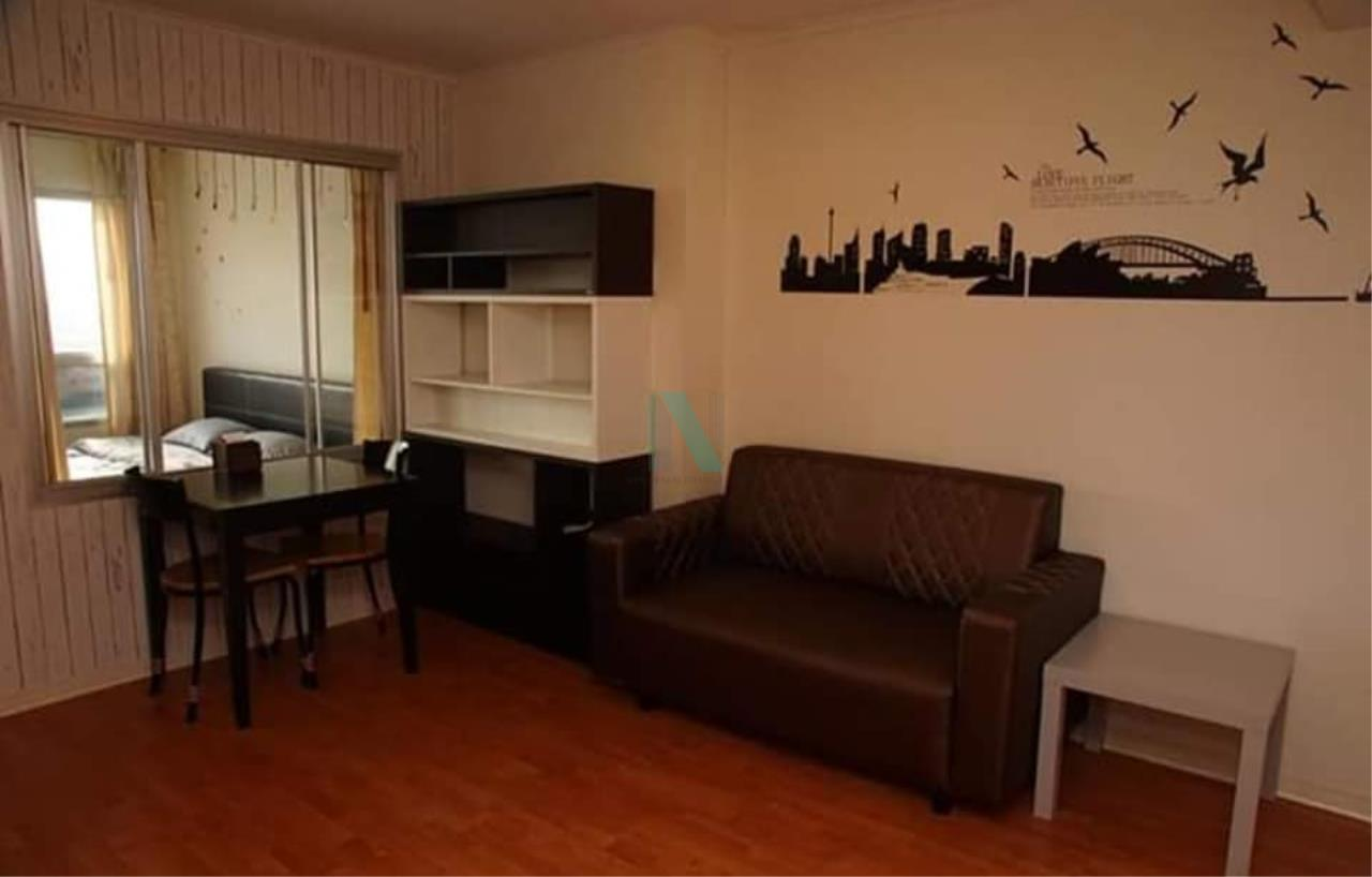 NOPPON REAL ESTATE CO.,LTD. Agency's For rent Lumpini Ville Ramkhamhaeng 44 1 bedroom 11th floor Building B. 1