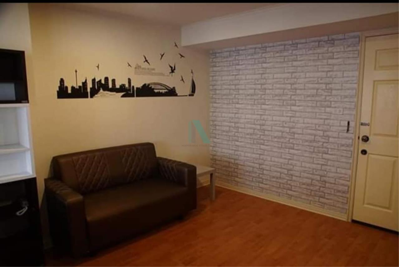NOPPON REAL ESTATE CO.,LTD. Agency's For rent Lumpini Ville Ramkhamhaeng 44 1 bedroom 11th floor Building B. 3