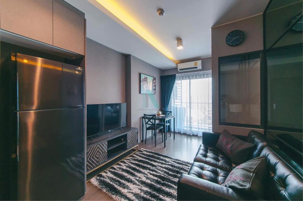 NOPPON REAL ESTATE CO.,LTD. Agency's For rent Ideo Sukhumvit 93 1 bedroom 23rd floor near BTS Bang Chak. 1