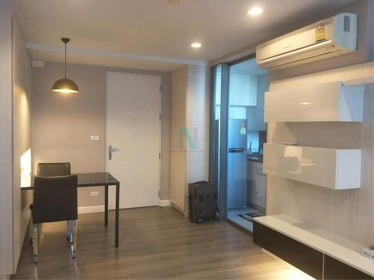 NOPPON REAL ESTATE CO.,LTD.  Agency's For rent The Room Sukhumvit 40 1 bedroom 8th floor near BTS Ekkamai. 1