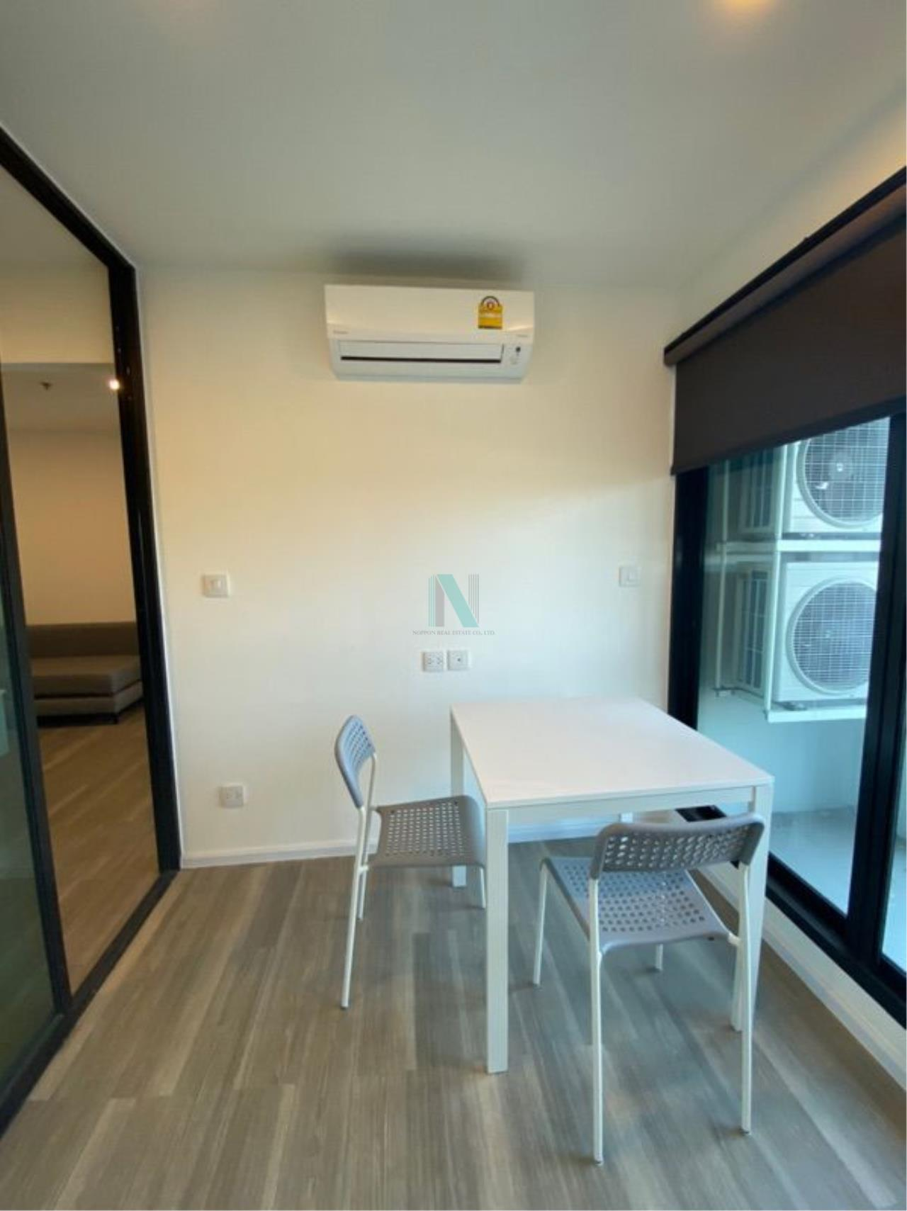 NOPPON REAL ESTATE CO.,LTD.  Agency's For rent Kensington Kaset Campus 1 bedroom 7th floor Building A near BTS Bang Bua. 2