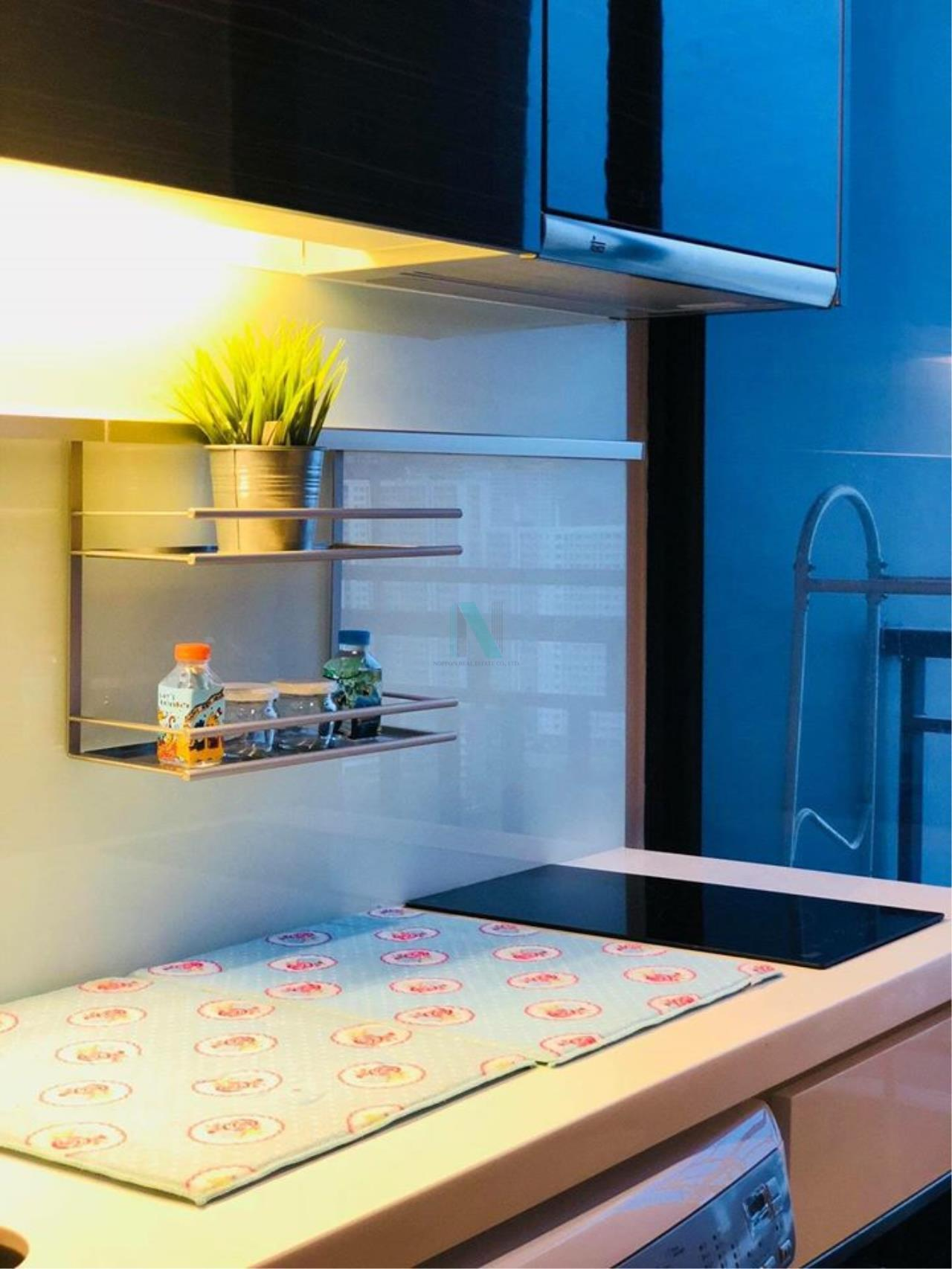 NOPPON REAL ESTATE CO.,LTD.  Agency's For rent Ivy Ampio Ratchada STUDIO Floor 22 near MRT Cultural Center. 5