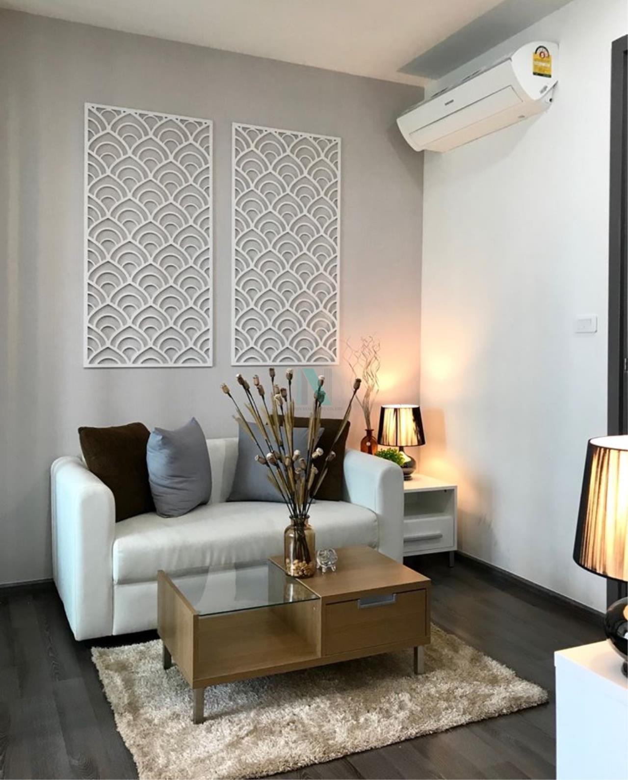 NOPPON REAL ESTATE CO.,LTD.  Agency's For Rent The Base Park West Sukhumvit 77 1 bedroom 11th floor near BTS On Nut. 1