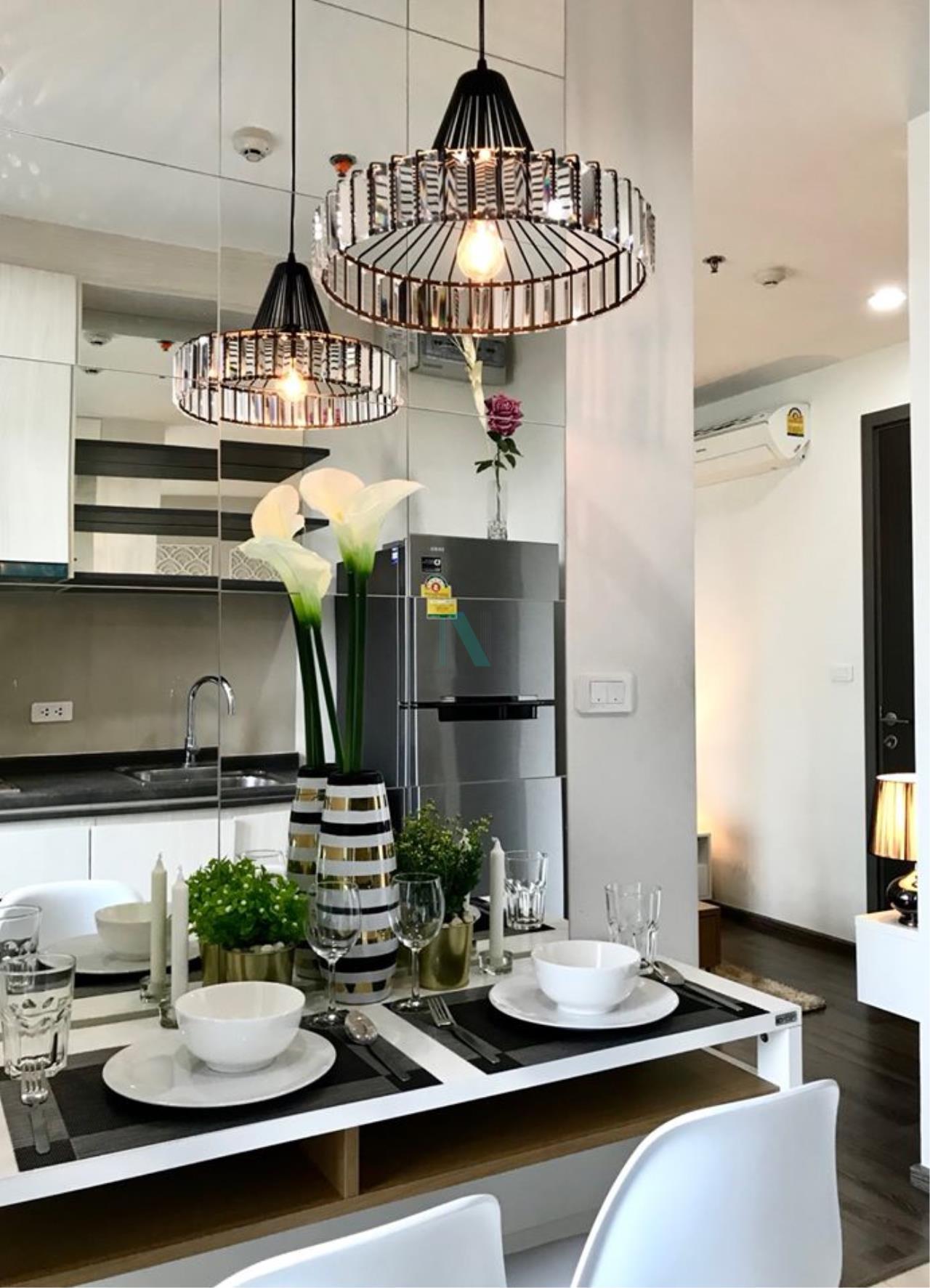 NOPPON REAL ESTATE CO.,LTD.  Agency's For Rent The Base Park West Sukhumvit 77 1 bedroom 11th floor near BTS On Nut. 2