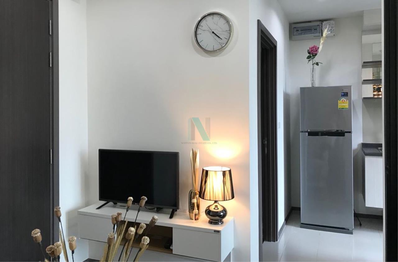 NOPPON REAL ESTATE CO.,LTD.  Agency's For Rent The Base Park West Sukhumvit 77 1 bedroom 11th floor near BTS On Nut. 3