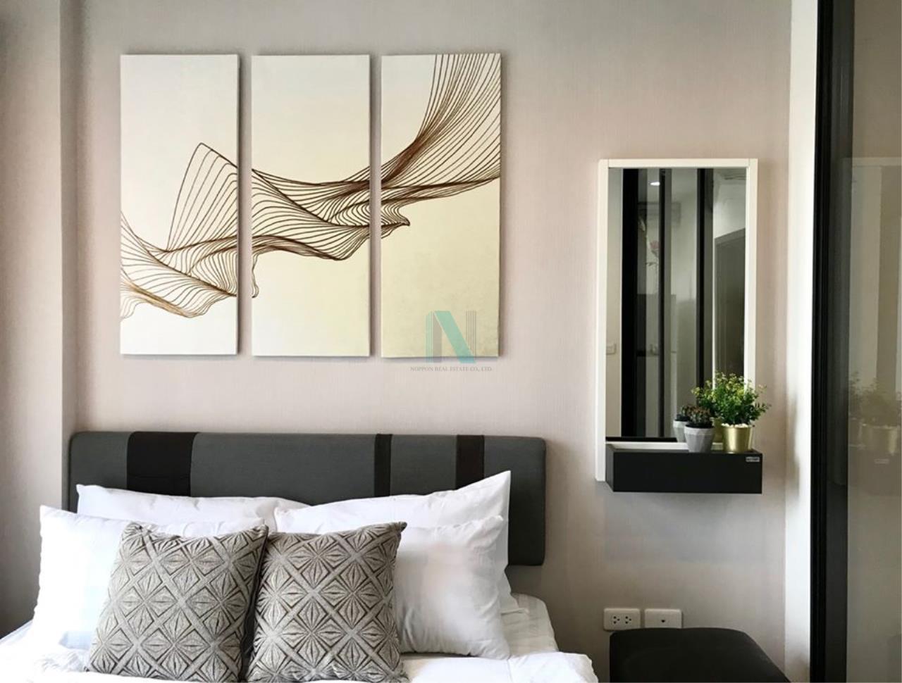 NOPPON REAL ESTATE CO.,LTD.  Agency's For Rent The Base Park West Sukhumvit 77 1 bedroom 11th floor near BTS On Nut. 4