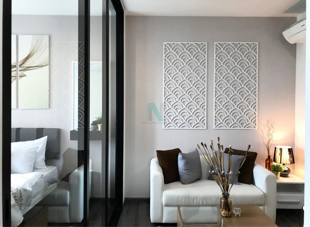 NOPPON REAL ESTATE CO.,LTD.  Agency's For Rent The Base Park West Sukhumvit 77 1 bedroom 11th floor near BTS On Nut. 5