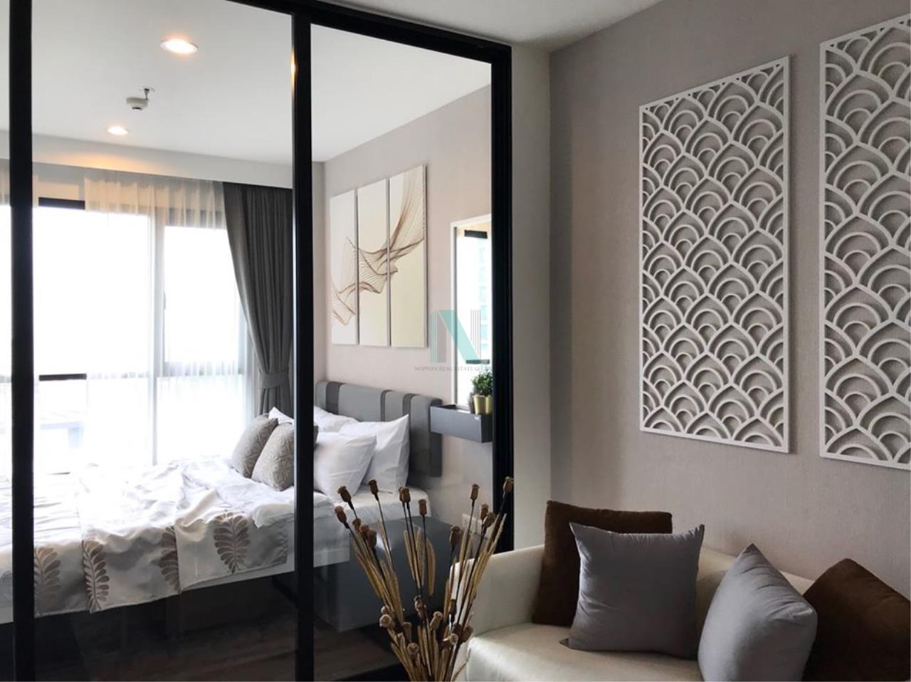 NOPPON REAL ESTATE CO.,LTD.  Agency's For Rent The Base Park West Sukhumvit 77 1 bedroom 11th floor near BTS On Nut. 6