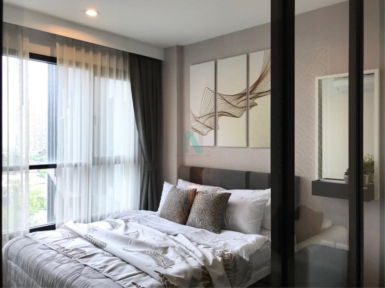 NOPPON REAL ESTATE CO.,LTD.  Agency's For Rent The Base Park West Sukhumvit 77 1 bedroom 11th floor near BTS On Nut. 7