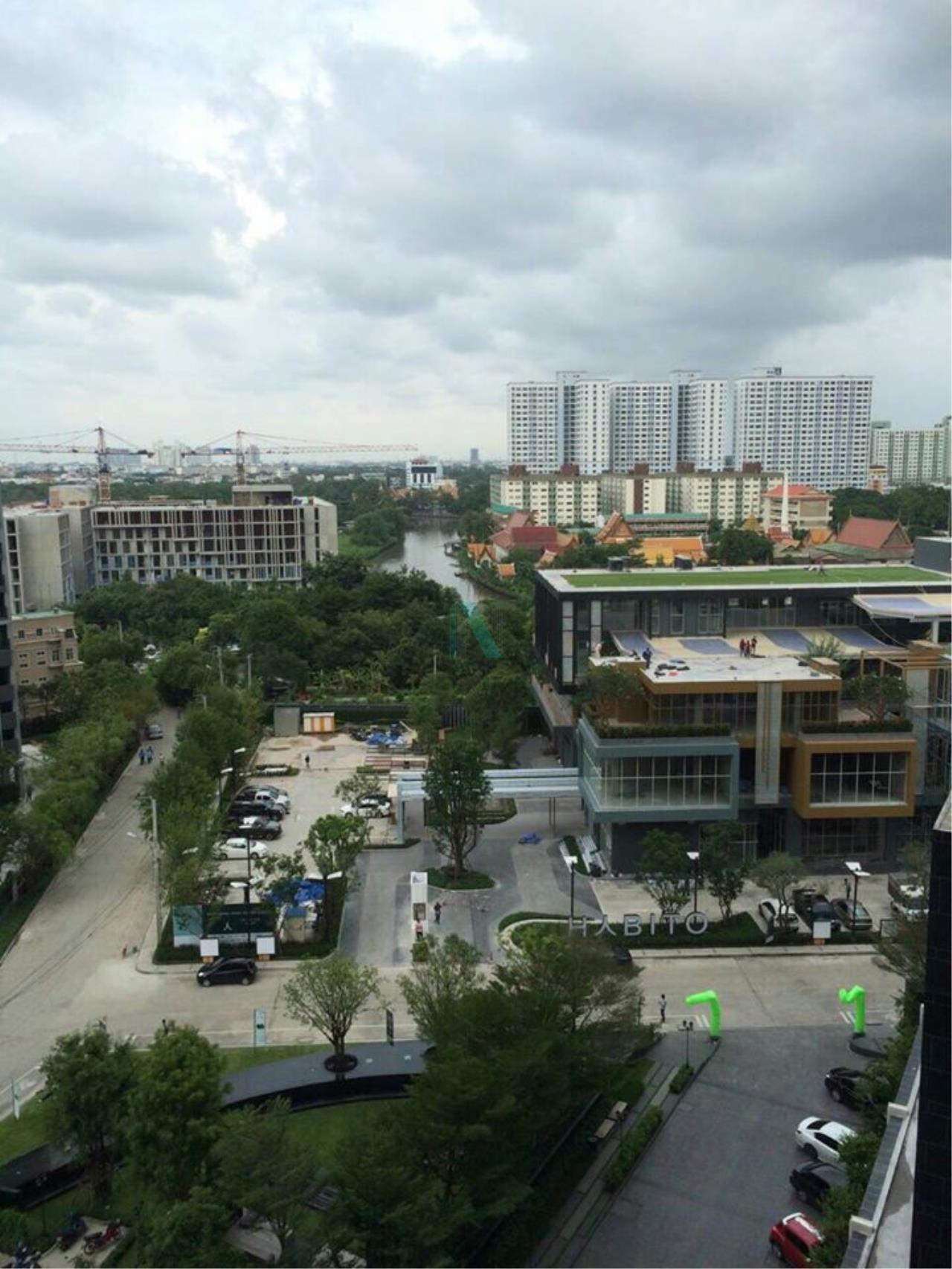 NOPPON REAL ESTATE CO.,LTD.  Agency's For Rent The Base Park West Sukhumvit 77 1 bedroom 11th floor near BTS On Nut. 8