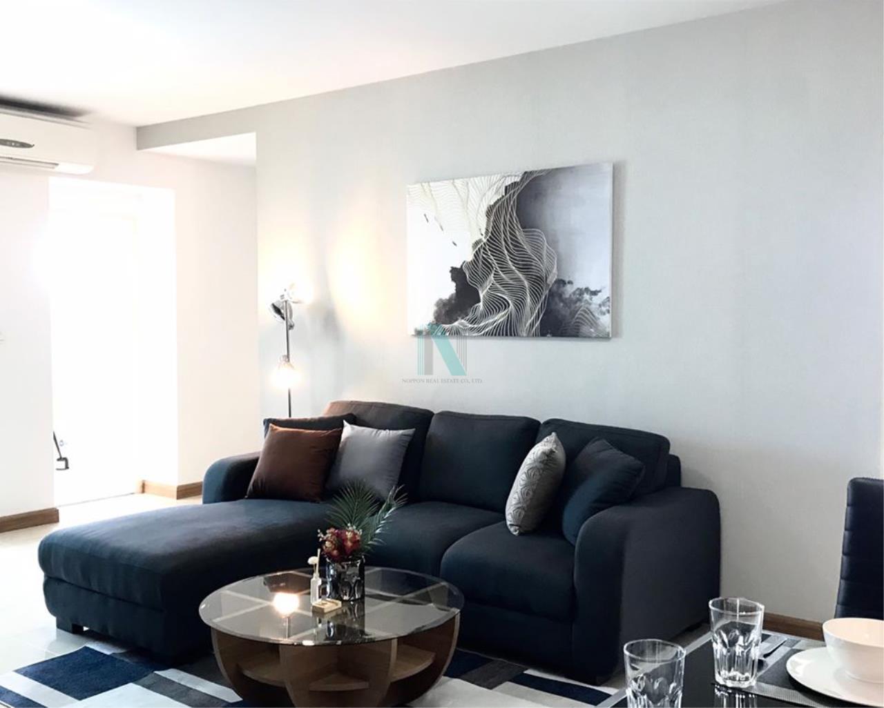 NOPPON REAL ESTATE CO.,LTD.  Agency's For Rent Supalai Park Ekkamai-Thonglor 2 bedrooms 40th floor. 1