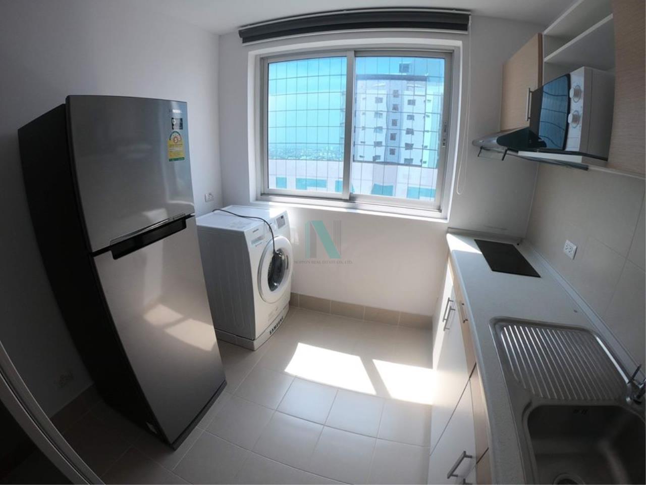 NOPPON REAL ESTATE CO.,LTD.  Agency's For Rent Supalai Park Ekkamai-Thonglor 2 bedrooms 40th floor. 3