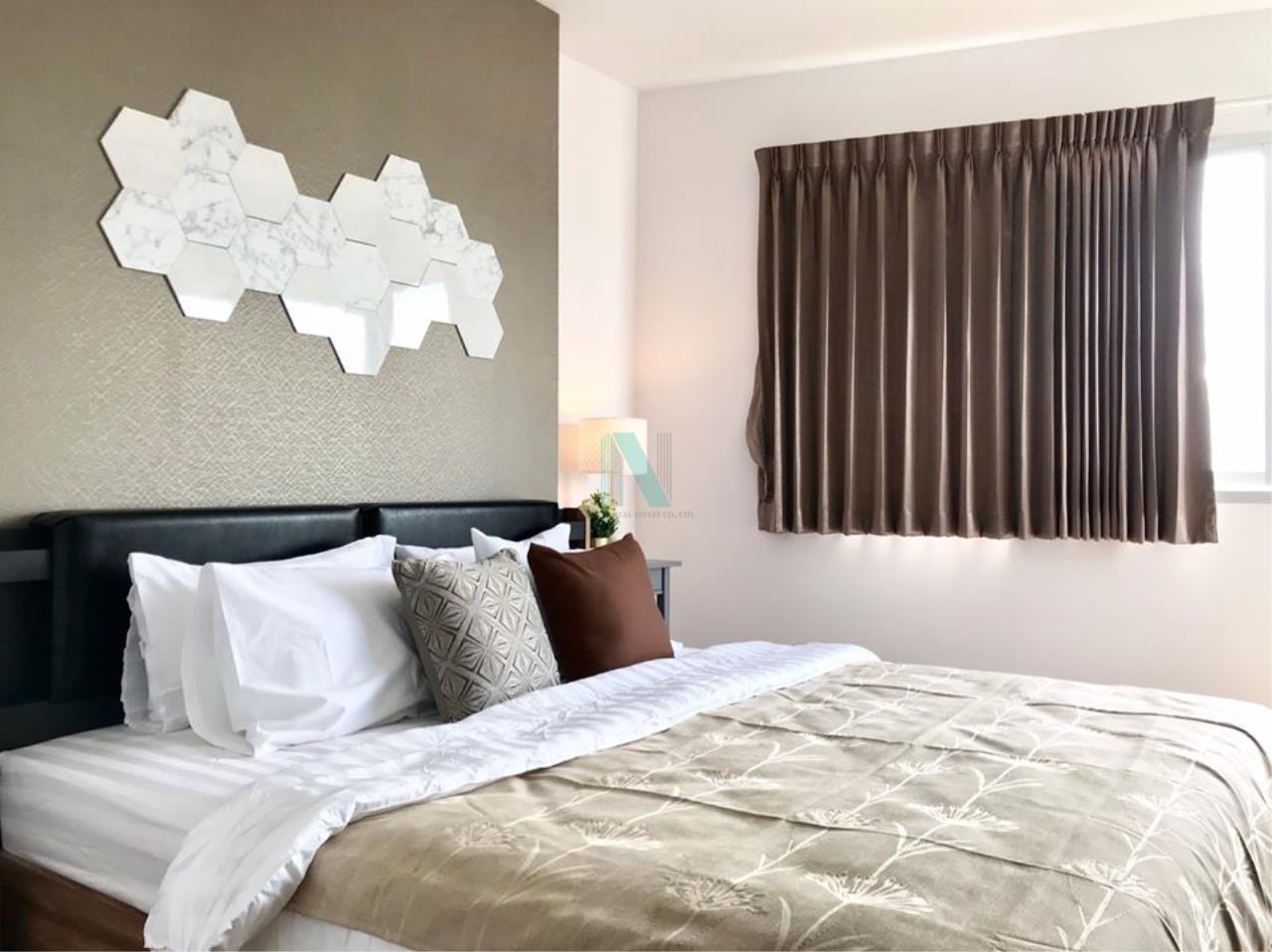 NOPPON REAL ESTATE CO.,LTD.  Agency's For Rent Supalai Park Ekkamai-Thonglor 2 bedrooms 40th floor. 4