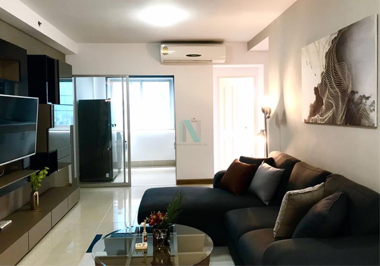 NOPPON REAL ESTATE CO.,LTD.  Agency's For Rent Supalai Park Ekkamai-Thonglor 2 bedrooms 40th floor. 8