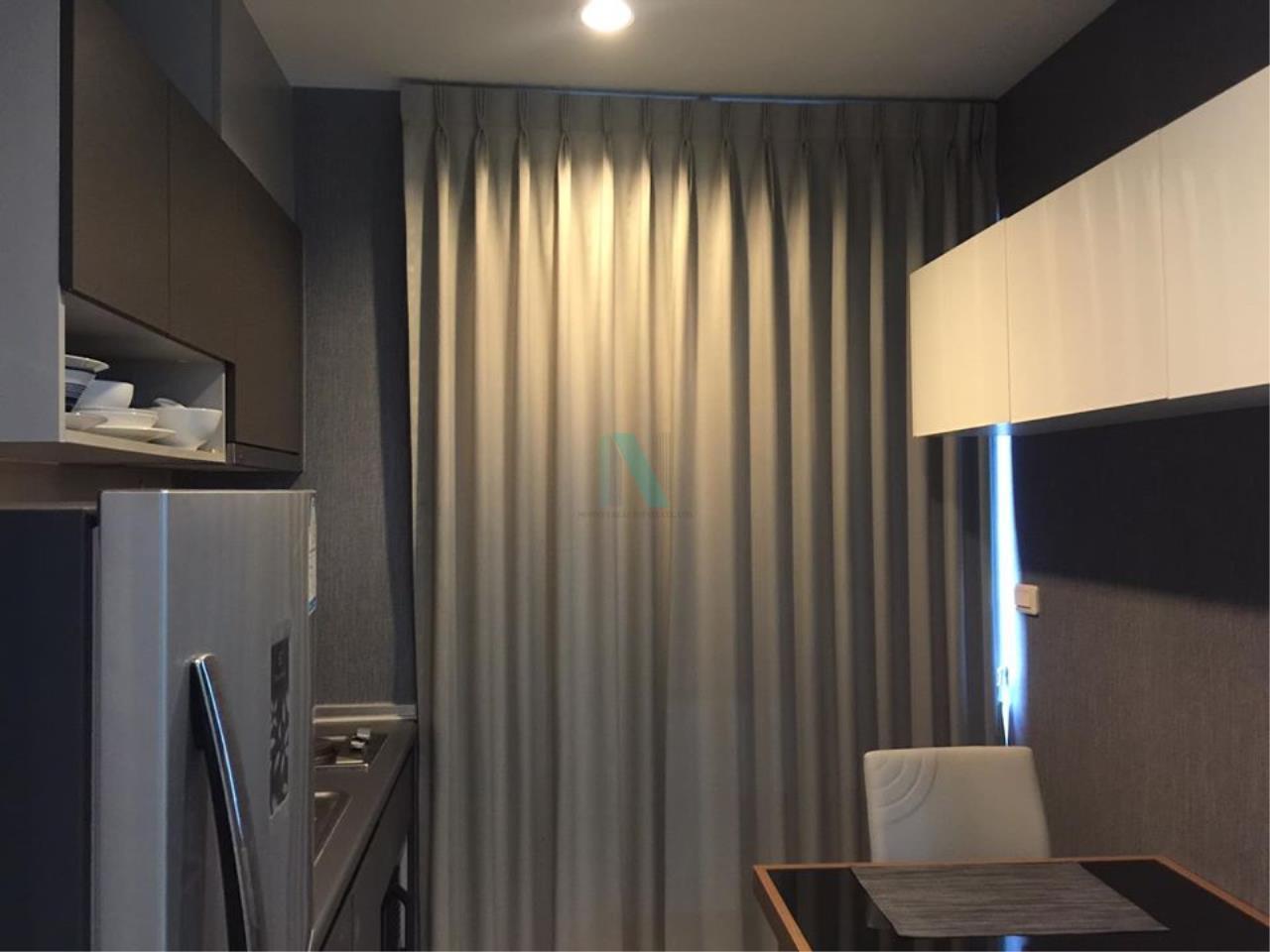 NOPPON REAL ESTATE CO.,LTD. Agency's NR09373. For Rent The Base Rama 9 - Ramkhamhaeng, 1 bedroom 28th floor near Airport Link Ramkhamhaeng. 6