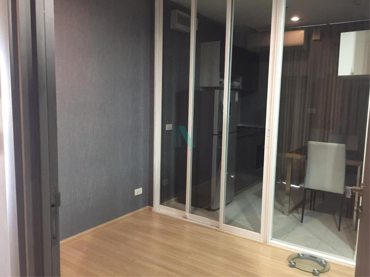 NOPPON REAL ESTATE CO.,LTD. Agency's NR09373. For Rent The Base Rama 9 - Ramkhamhaeng, 1 bedroom 28th floor near Airport Link Ramkhamhaeng. 7