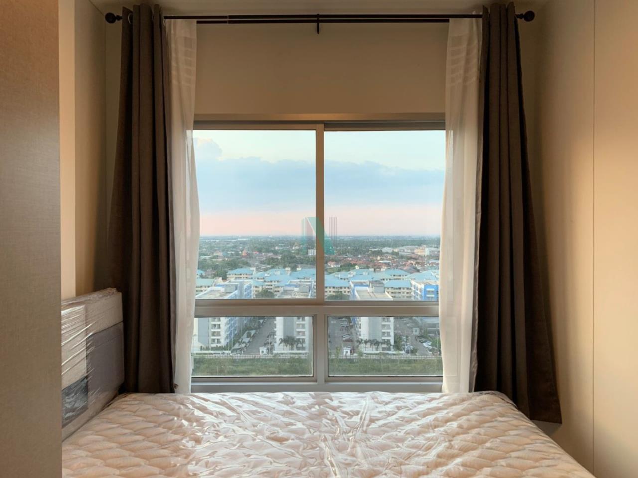 NOPPON REAL ESTATE CO.,LTD. Agency's NR09388. For rent NICHE ID @ PAKKRET STATION 1 bedroom 17th floor. 1