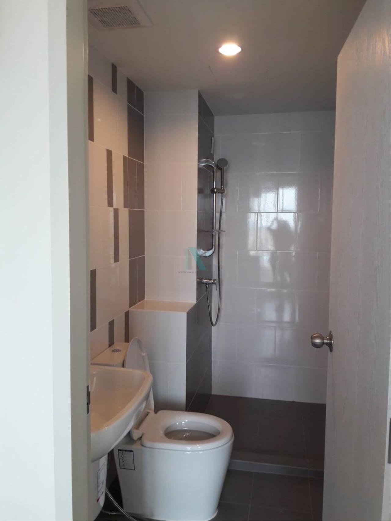 NOPPON REAL ESTATE CO.,LTD. Agency's NR09388. For rent NICHE ID @ PAKKRET STATION 1 bedroom 17th floor. 7