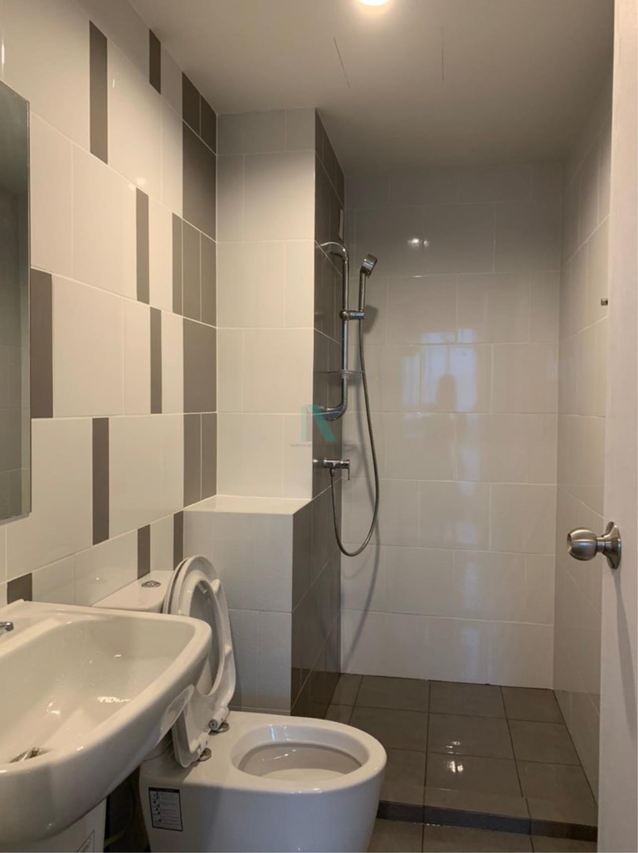 NOPPON REAL ESTATE CO.,LTD. Agency's NR09388. For rent NICHE ID @ PAKKRET STATION 1 bedroom 17th floor. 8