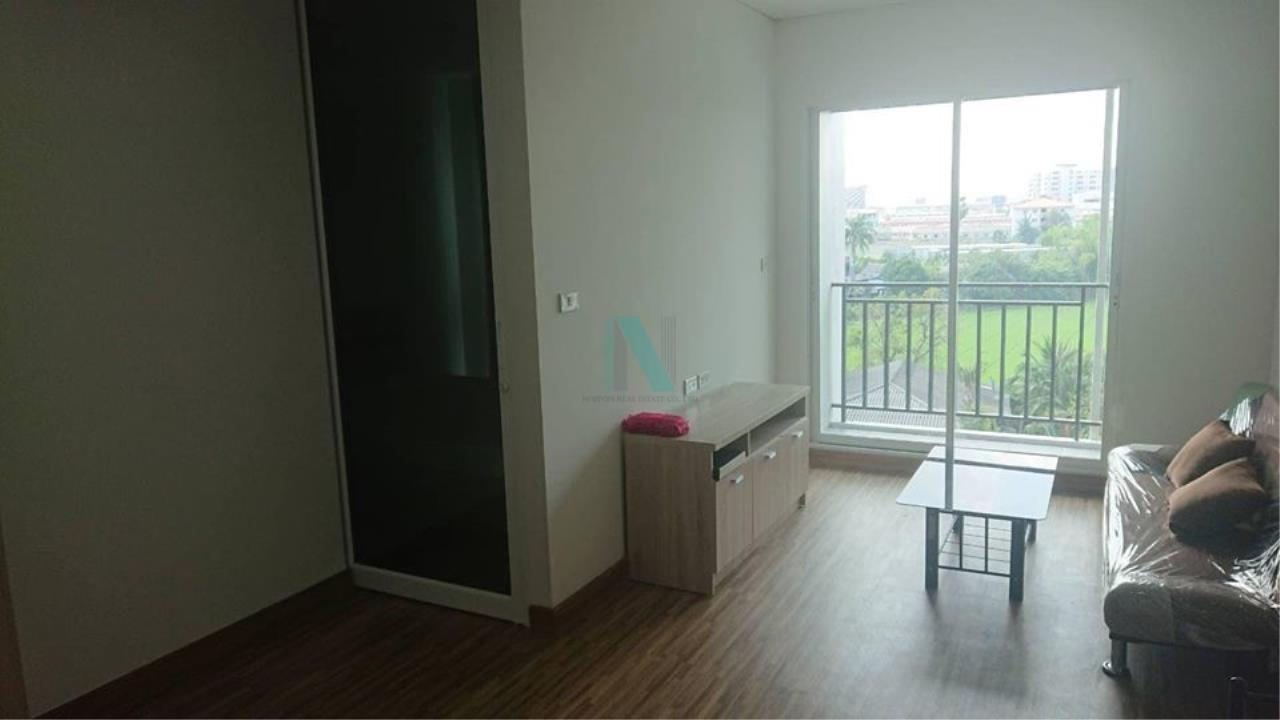 NOPPON REAL ESTATE CO.,LTD.  Agency's For rent The Iris Bangyai 1 bedroom 6th floor building 5 near MRT Khlong Bang Phai. 4