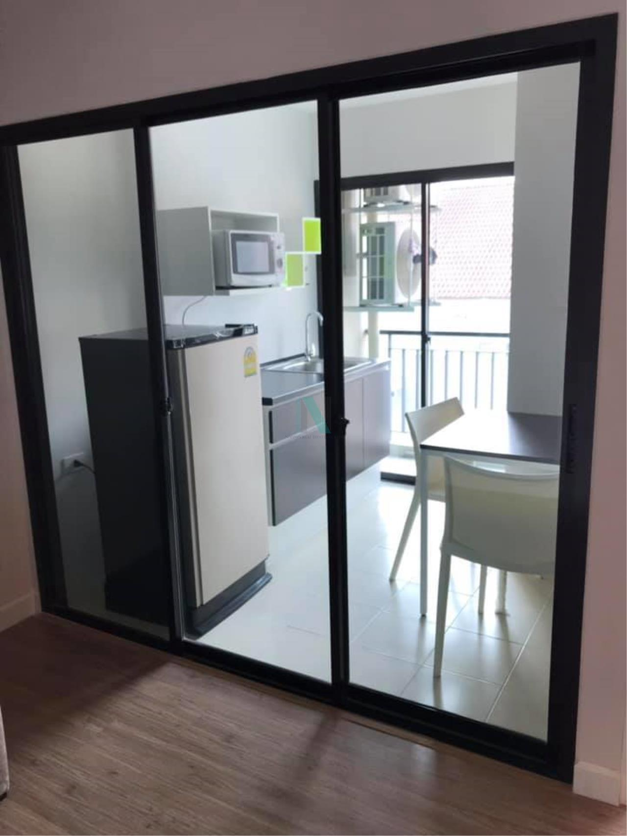 NOPPON REAL ESTATE CO.,LTD. Agency's For rent Hallmark Ngamwongwan 1 bedroom 6th floor Building A. 5