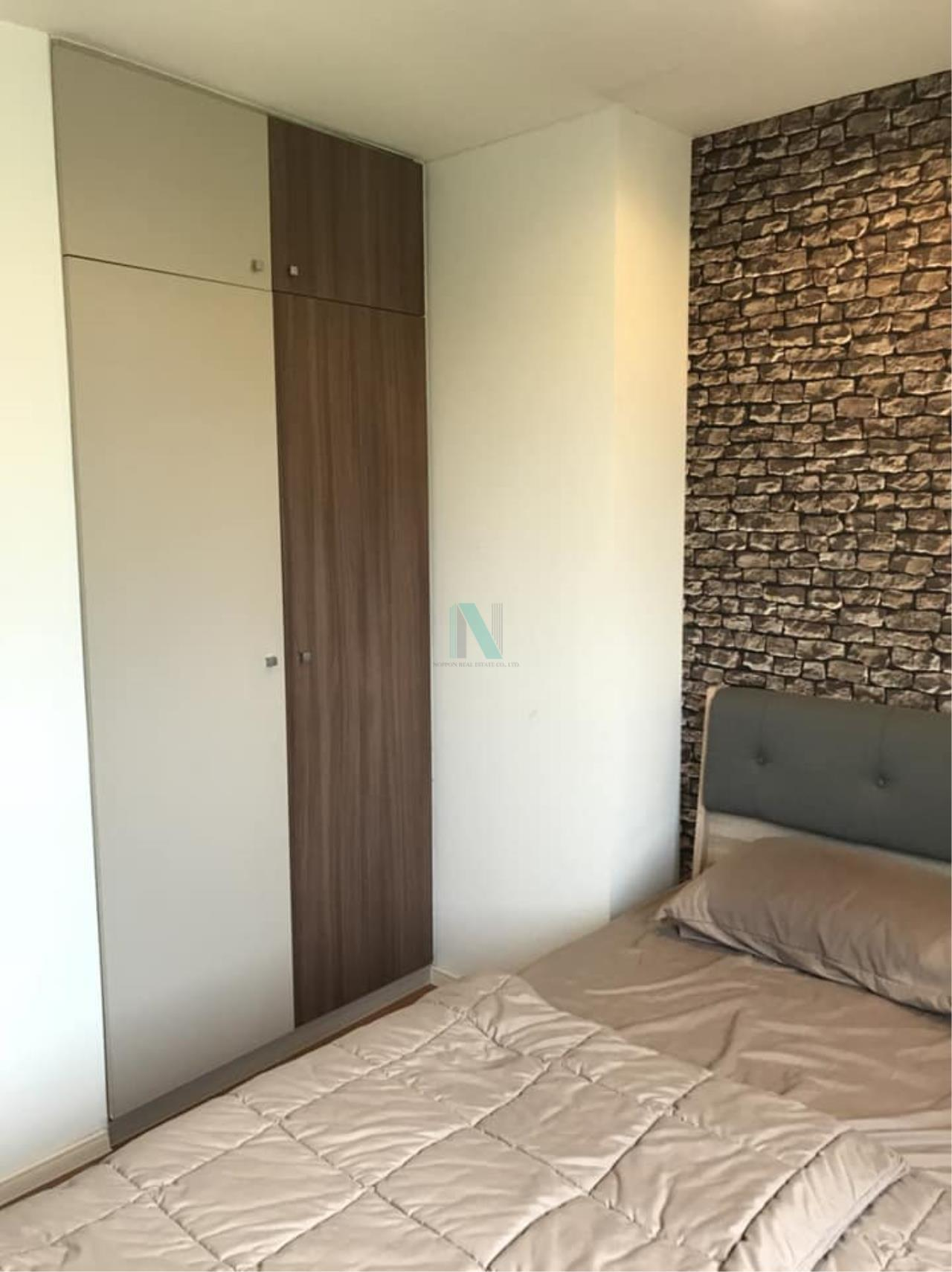 NOPPON REAL ESTATE CO.,LTD.  Agency's For rent Lumpini Condotown Nida-Serithai 1 bedroom 8th floor A2 building near HomePro. 2