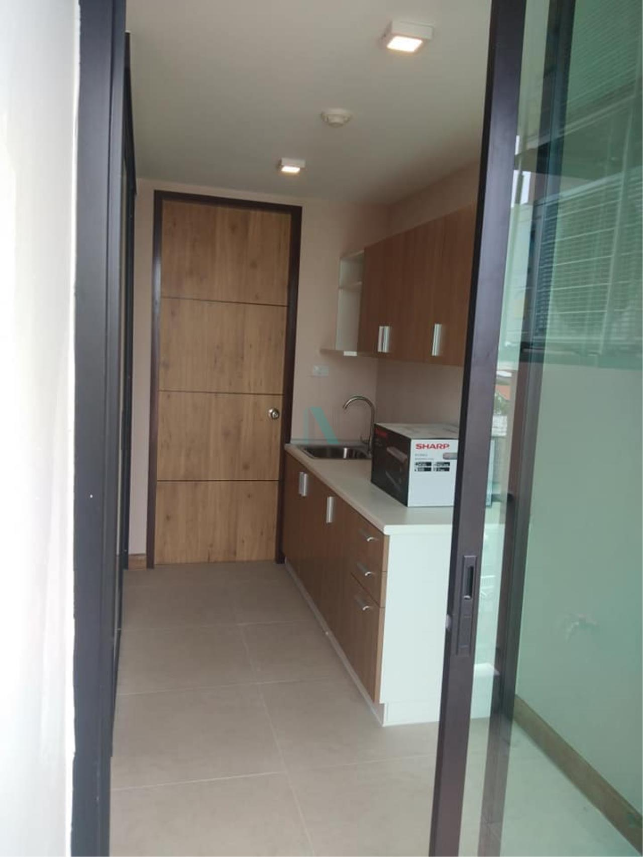 NOPPON REAL ESTATE CO.,LTD.  Agency's For rent RIZZO CONDO BANGKANG 1 bedroom 7th floor near Triamudomsuksa Pattanakarn Nonthaburi. 4