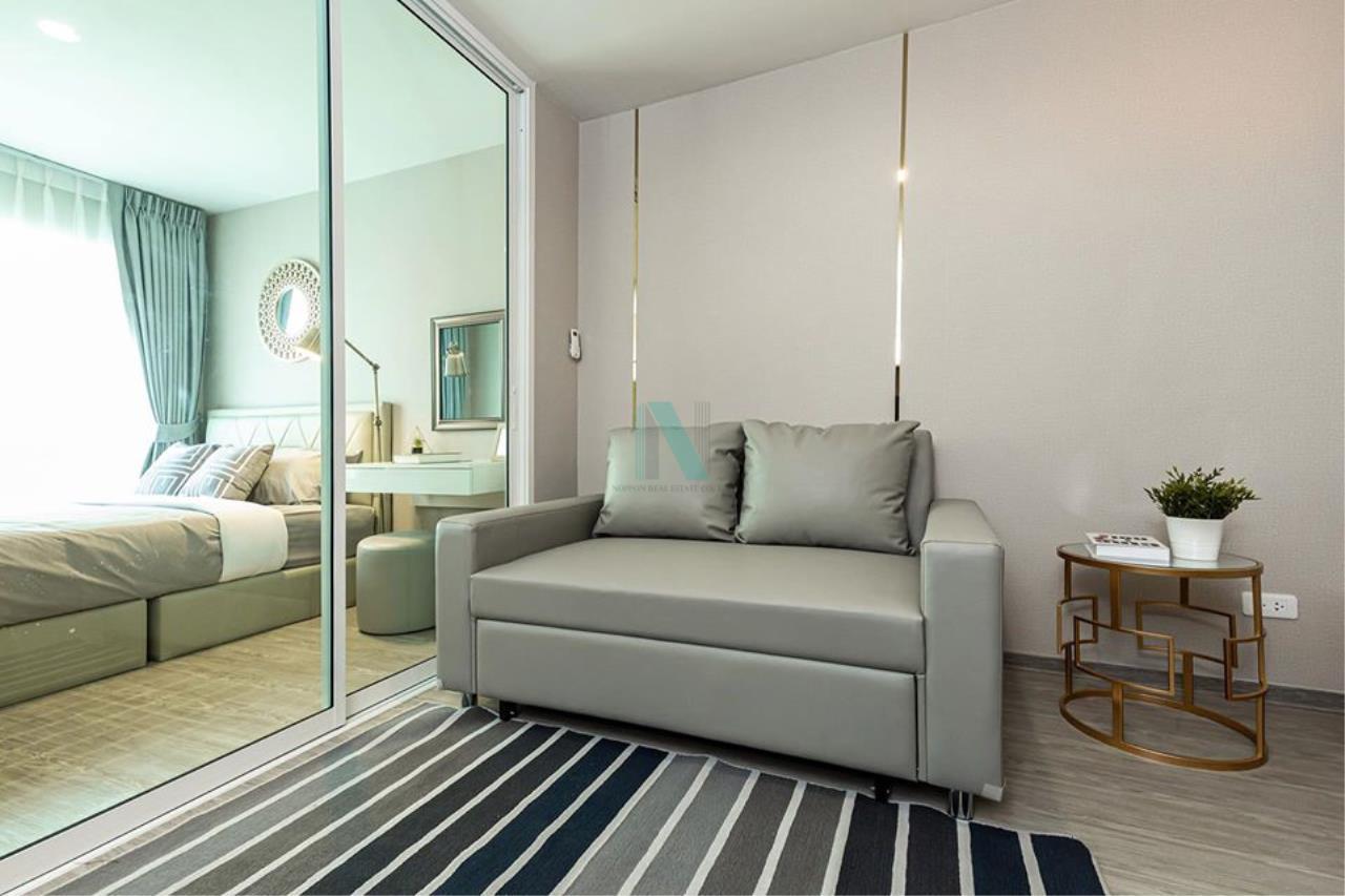 NOPPON REAL ESTATE CO.,LTD.  Agency's For rent Regent Home Sukhumvit 97/1 1 bedroom 6th floor Building E near BTS Bang Chak. 1