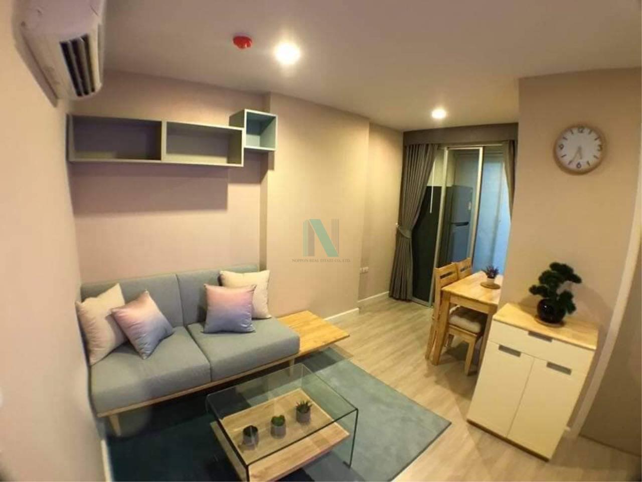 NOPPON REAL ESTATE CO.,LTD.  Agency's For rent Metro Luxe Ekkamai-Rama 4 1 bedroom Floor 5 Building B near Ekkamai BTS. 1