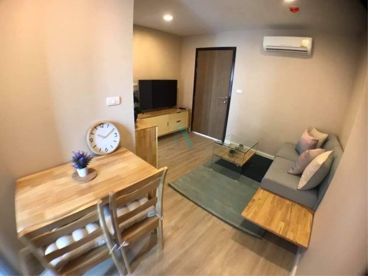 NOPPON REAL ESTATE CO.,LTD.  Agency's For rent Metro Luxe Ekkamai-Rama 4 1 bedroom Floor 5 Building B near Ekkamai BTS. 2