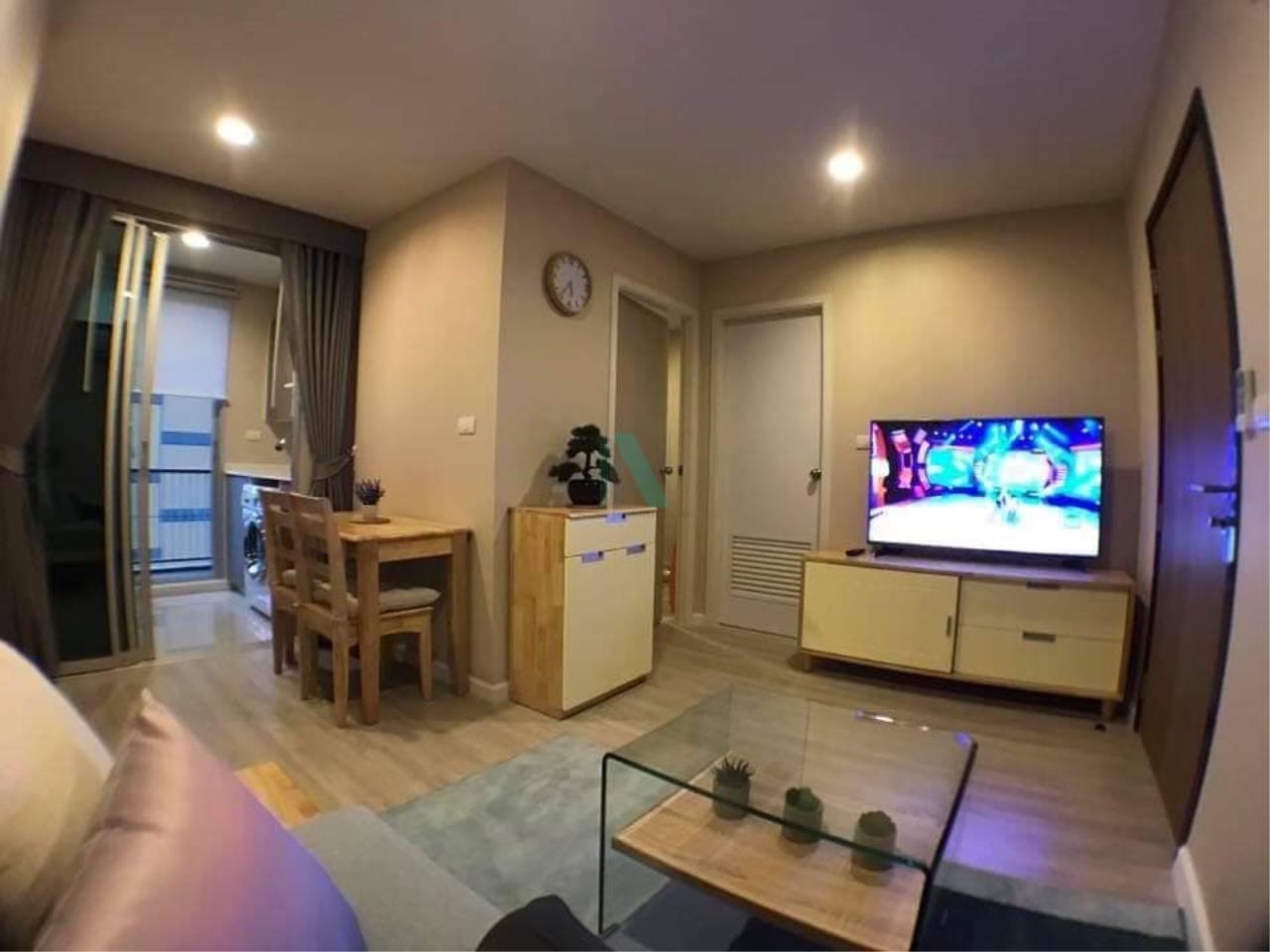 NOPPON REAL ESTATE CO.,LTD.  Agency's For rent Metro Luxe Ekkamai-Rama 4 1 bedroom Floor 5 Building B near Ekkamai BTS. 6