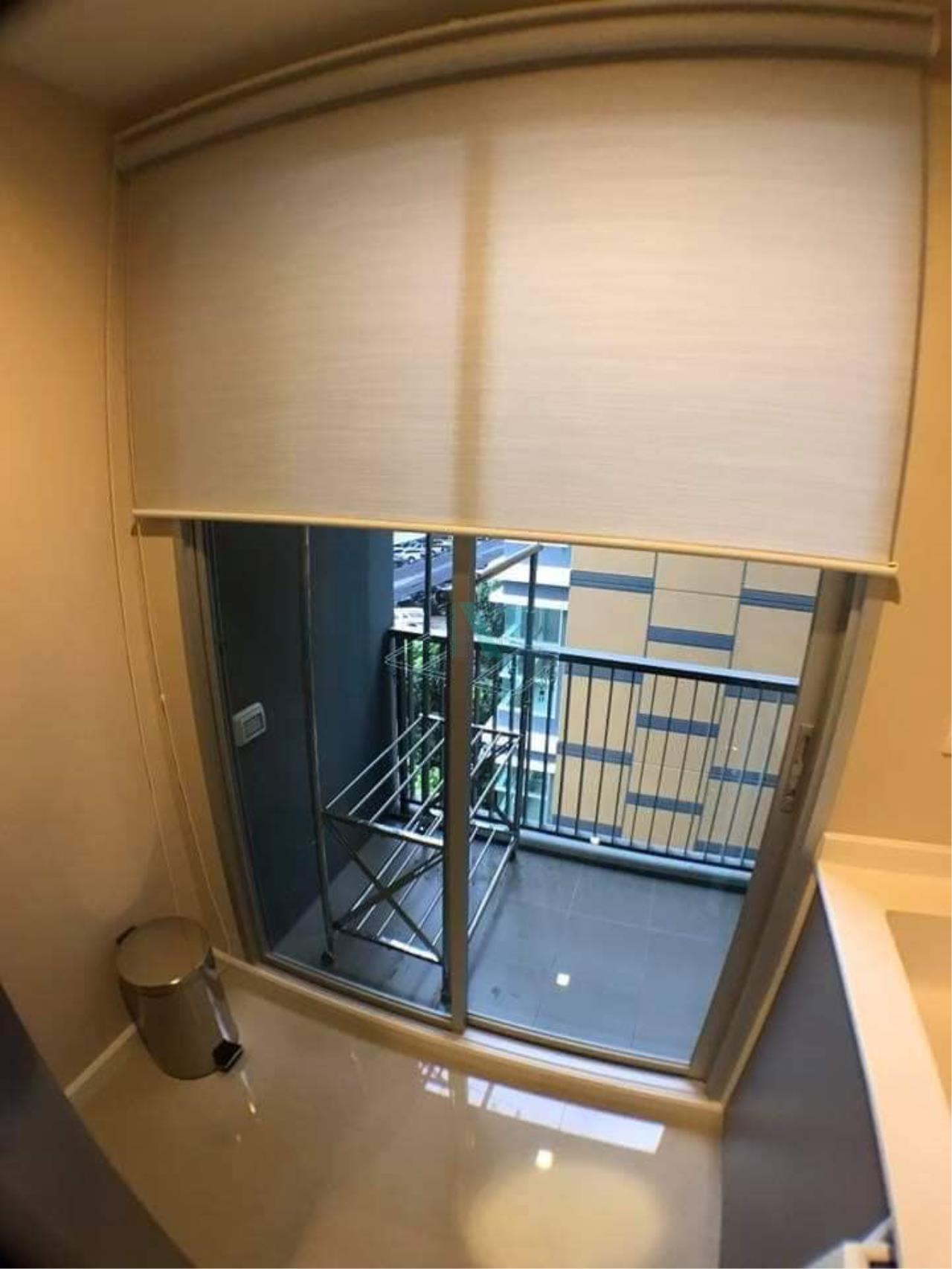 NOPPON REAL ESTATE CO.,LTD.  Agency's For rent Metro Luxe Ekkamai-Rama 4 1 bedroom Floor 5 Building B near Ekkamai BTS. 8