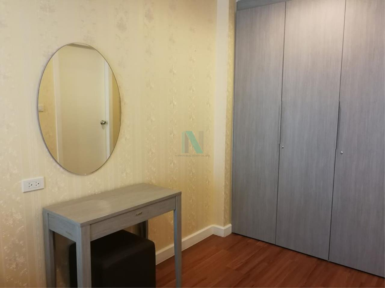NOPPON REAL ESTATE CO.,LTD.  Agency's For rent WHIZDOM @ PUNNAWITHI STATION 2 bedrooms 7th floor Building A. 2