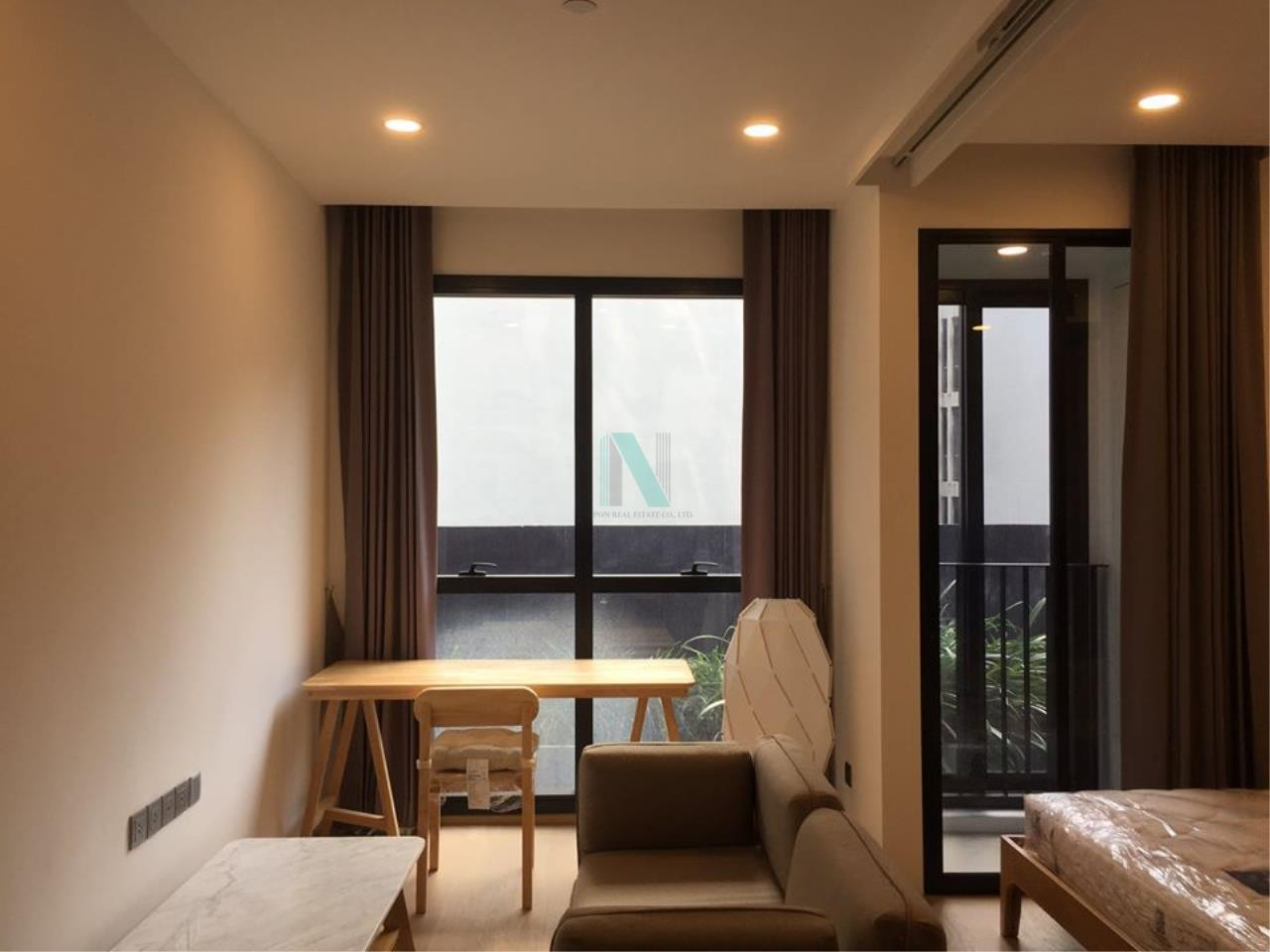NOPPON REAL ESTATE CO.,LTD.  Agency's For Rent Ashton Chula-Silom 1 Bedroom 7th floor near MRT Sam Yan. 1