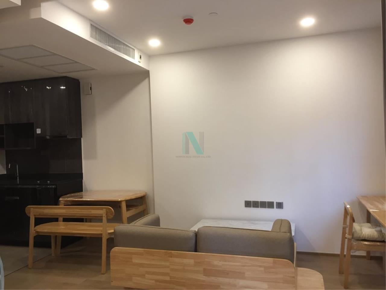 NOPPON REAL ESTATE CO.,LTD.  Agency's For Rent Ashton Chula-Silom 1 Bedroom 7th floor near MRT Sam Yan. 4