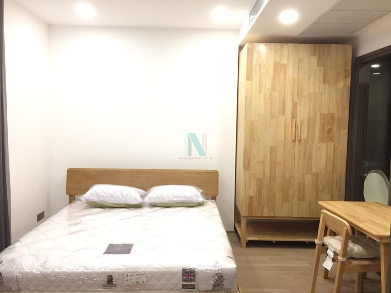 NOPPON REAL ESTATE CO.,LTD.  Agency's For Rent Ashton Chula-Silom 1 Bedroom 7th floor near MRT Sam Yan. 8